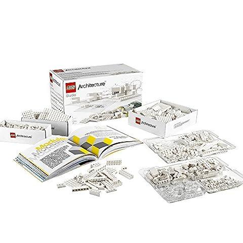 LEGO Architecture Studio 21050 Building Blocks Set - Guidebook Set