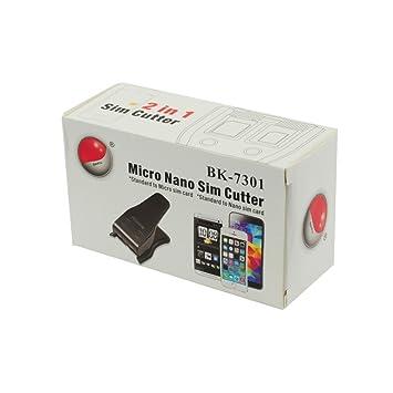 Blue Star - Cortador de tarjetas sim: Amazon.es: Electrónica