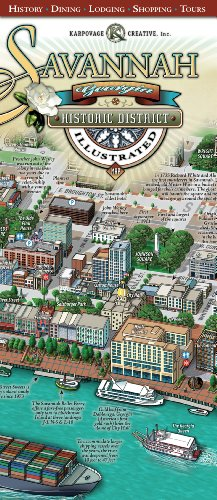 Savannah Historic District Illustrated - Savannah Outlet
