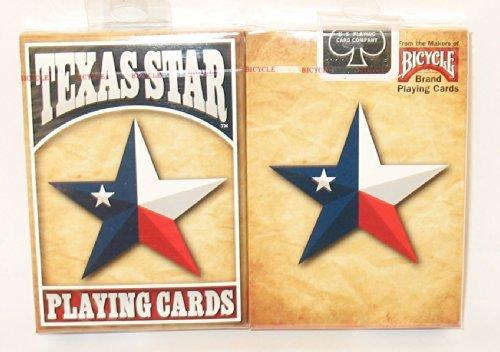 US Playing Card Coのテキサス州旗の自転車トランプ2枚。 B013XRVNK2
