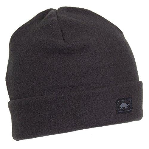 Turtle Fur Original Fleece The Hat, Heavyweight Fleece Watch Cap Beanie, Carbon ()