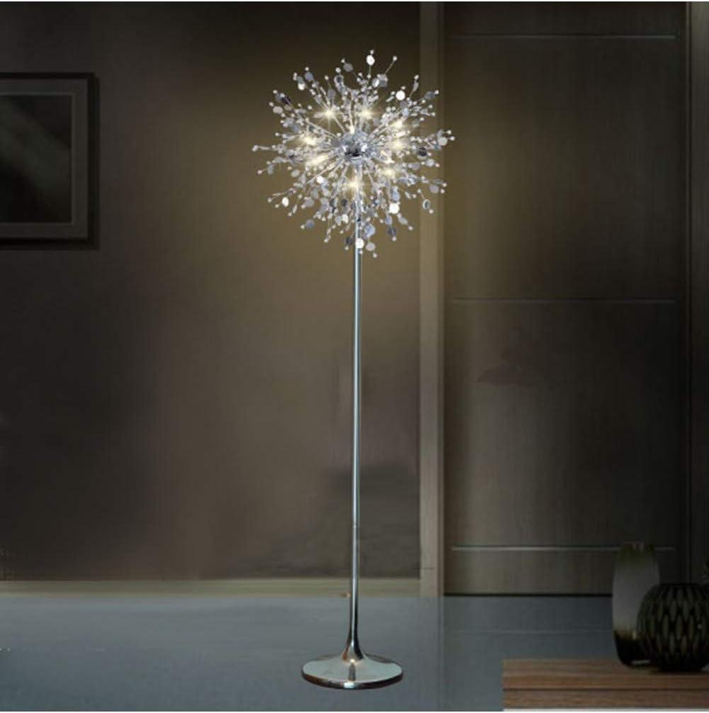 Xdldd Dekorative Blume Baum Stehleuchte Lampe Kristall Stehleuchte