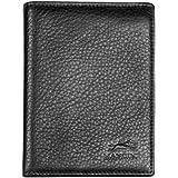 Mancini Leather Goods Men's Flip Fold (Black)