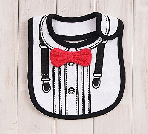 742b6d2e0131 FANCYBIBS Baby Toddler Infant Boys Girls Drool Drooling Bibs Bowtie Tuxedo  Bow Neck Tie Burp Cloths Unisex Pack