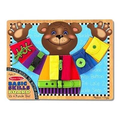 Melissa & Doug Basic Skills Board: Not Available: Toys & Games