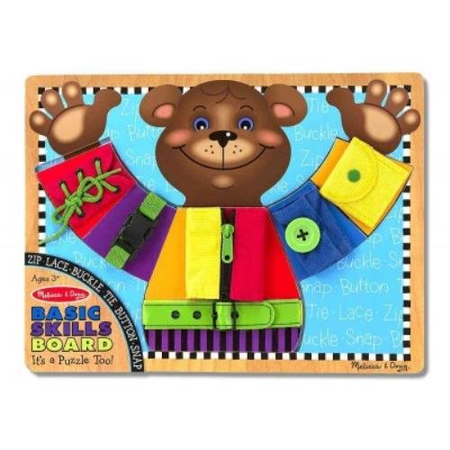 Melissa & Doug Basic Skills Board]()