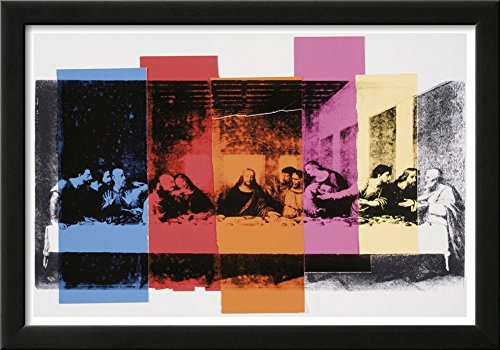 Detail of the Last Supper, c.1986 Framed Art Print by Andy Warhol 21 x (Andy Warhol Home Revolution)