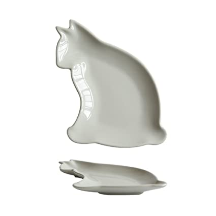 Colias Wing Cuddly Animal Shape Ceramic Salad/ Pasta/ Fruit/ Appetizer/ Dessert Plates  sc 1 st  Amazon.com & Amazon.com | Colias Wing Cuddly Animal Shape Ceramic Salad/ Pasta ...