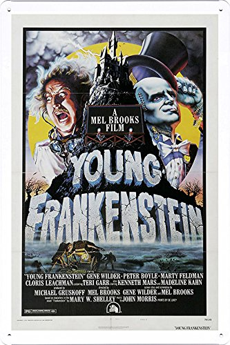 - Movie Poster Home Theater Decor Metal Tin Sign Wall Art by Masterpiece Collection 20*30cm (OIL-MFC5381)