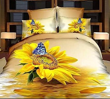 Oro amarillo y ropa de cama de sbanas de girasoles bestdeal oro amarillo y ropa de cama de sbanas de girasoles bestdeal edredones edredn floral juegos 3d fandeluxe Gallery