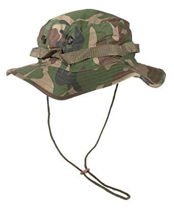 6e092b7c42b06 Mil-Tec GI Boonie Hat Woodland  Amazon.co.uk  Clothing