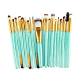 Makeup Brushes,Hatop 20 pcs Makeup Brush Set tools Make-up Toiletry Kit Wool Make Up Brush Set (Gold)