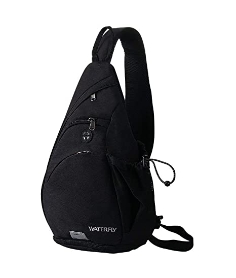 Buy WATERFLY Sling Bag Backpack Small Chest Bags for Men Women Crossbody Bag  Traveling Camping Cycling Hiking Daypack Trekking Backpack Online at Low  Prices ... 97ac85aa31e00
