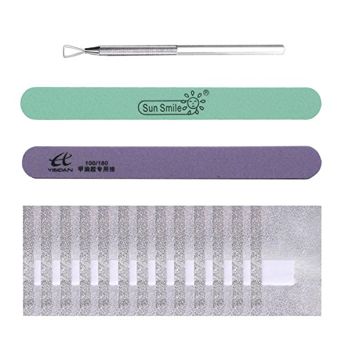 UV Gel Nail Polish Remover Kit Aluminum Foil Wraps,Cuticle N