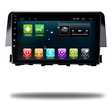 Car Radio GPS Head Unit Android 7.1 Navi for Honda Civic 2016-2018 Car Autoradio