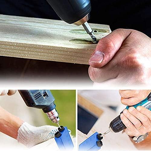MAICOLA Mini Pocket Hole Jig Kit Vite 6//8 10mm obliqua Buco Locator posizionatore Perforazione Punte Jig Morsetto Legno Kit