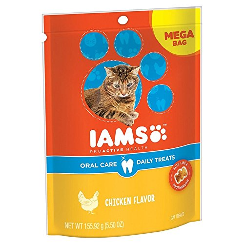 Iams ProActive Health Oral Care Chicken Flavor Daily Treats - 5.50 oz