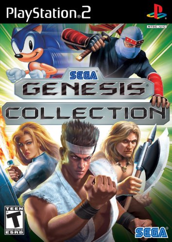 Sega Genesis Collection - PlayStation - Ps2 Flight