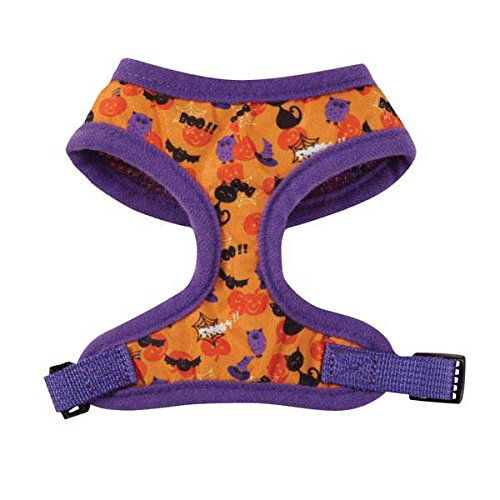Casual Canine Nylon Spooky Harness, Medium, Purple