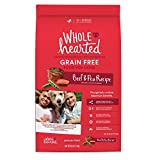WholeHearted Grain Free All Life Stages Beef & Pea Formula Dry Dog Food, 40 lbs. Review