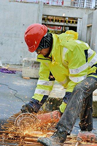 MSA V-Gard Helmets EN397 - Construction worker helmet Work helmets  Protective helmets in different Colours - Orange, V-Gard 200 Premium