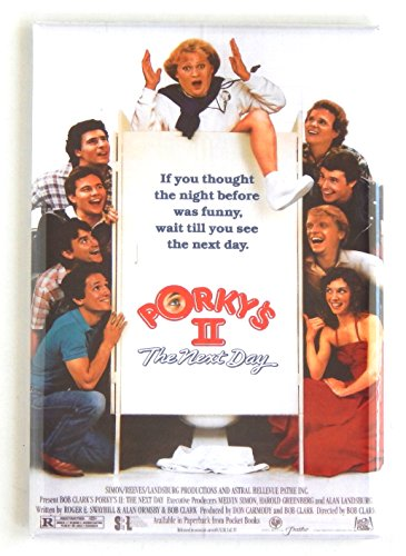 Porky's 2: The Next Day Movie Poster Fridge Magnet (2 x 3 inches)