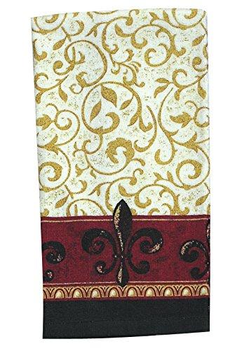 Kay Dee Designs R1010 Scroll Fleur De Lis Terry (Scroll Kitchen)