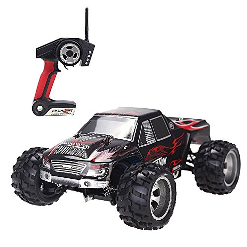 DeeXop-Babrit 2.4 GHz 4WD F9 RC Cars Fast - Iphone Remote Control Truck