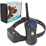 Brefac Dog Training Collar with Remote Shock Collar for Large Small Medium Dogs with Electric Shock Vibration Beep, Rechargeable and 100% Waterproof Sport Dog Trainer E-Collars (8-100lbs)