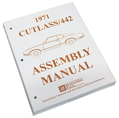 Inline Tube (I-3-4) Factory Assembly Manual for 1971 Oldsmobile Cutlass / 442 - Oldsmobile Factory Parts