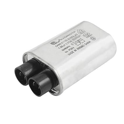 Aexit AC 2100V 1.05uF 3% 50 / 60Hz Condensador de horno de ...