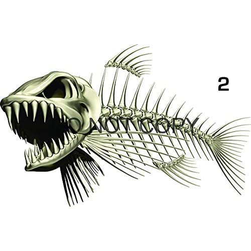 Fish Decals For Boats Amazon Com