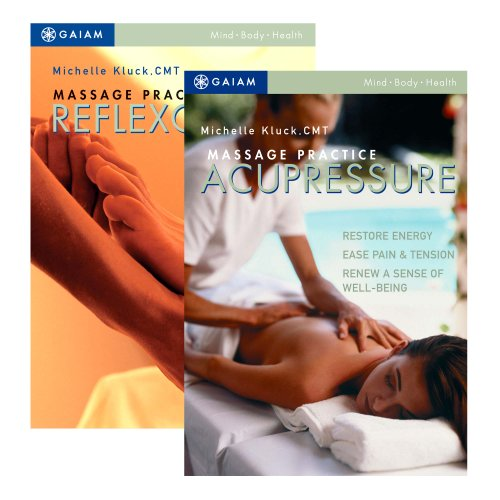 Точечный массаж и рефлексотерапия DVD Set с Мишель Ebbin