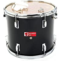 Percussion Plus PP787-BK Junior Tenor Marching Drum 14""