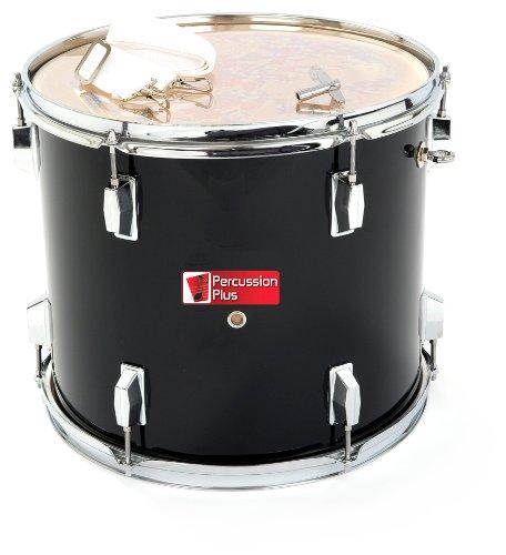 Percussion Plus PP787-BK Junior Tenor Marching Drum 14