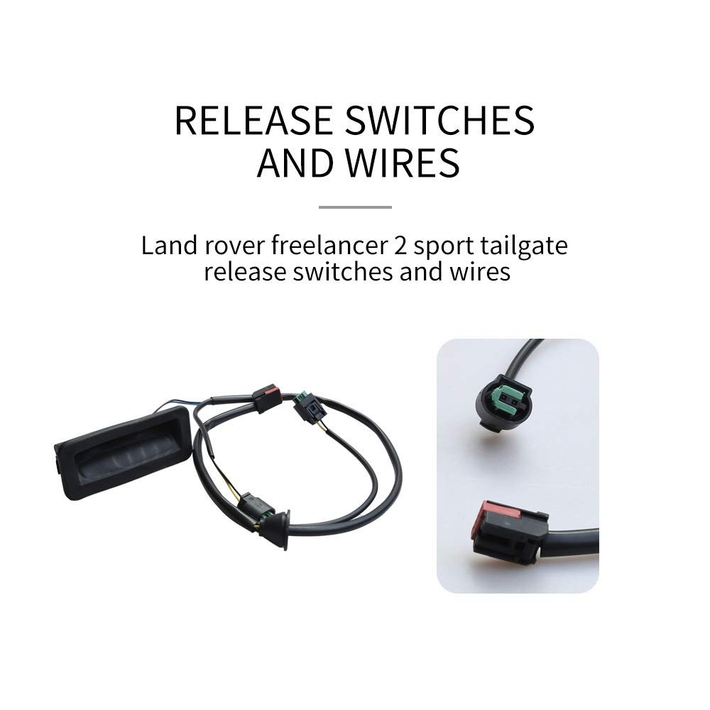 Interruttore di rilascio portellone posteriore LR020997 per Land Rover Freelander Land Rover Sport