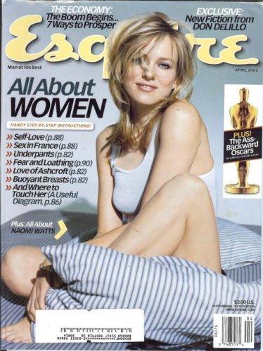 Read Online Esquire Magazine (April 2003) Naomi Watts on the cover (Vol. 139) PDF