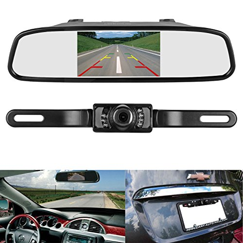 ZSMJ Backup Camera and Monitor Kit,4.3