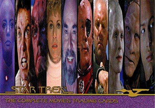 STAR TREK MOVIES, THE COMPLETE 2007 RITTENHOUSE NON-SPORT UPDATE PROMO CARD P2