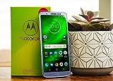Motorola Moto G6 Plus (64GB, 4GB RAM) XT1926-7 - 5.9' FHD Display, Dual Sim, 4G LTE Factory Unlocked Smartphone International Model (Silver)