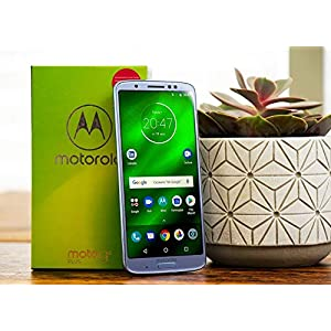 Motorola Moto G6 Plus (64GB, 4GB RAM) XT1926-7 – 5.9″ FHD Display, Dual Sim, 4G LTE Factory Unlocked Smartphone International Model (Silver)