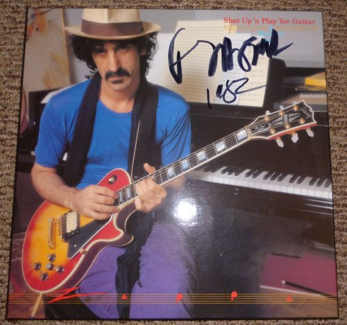 Play Shut Box - FRANK ZAPPA Shut Up Play Yer Guitar SIGNED Triple (3) LP Box Set JSA LOA 1981 CBS Holland