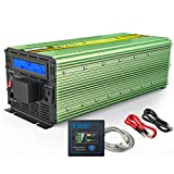 EDECOA Power Inverter Pure Sine Wave 2500W Peak 5000W DC 12V to...