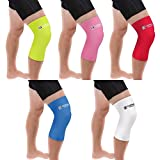 Copper Compression NEW Colored Knee Sleeve - GUARANTEED Best Copper + Zinc Knee Brace With Infused Fit. Unisex For Men And Women. Wear Support Stiff Sore Muscles And Joints, Tendonitis (2XL, White)