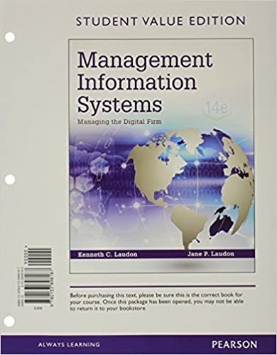 Management information systems managing the digital firm student management information systems managing the digital firm student value edition 14th edition 14th edition fandeluxe Choice Image