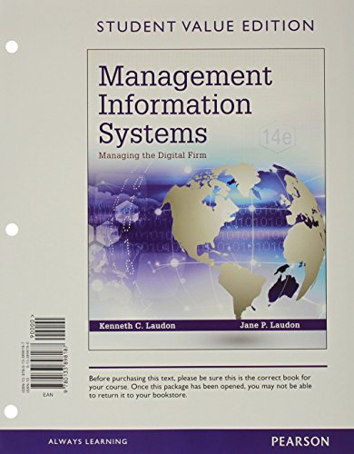 management information systems managing the digital Issuu is a digital publishing platform that makes it simple to publish magazines, catalogs, newspapers, books, and more online easily share your publications and get them in front of issuu's millions of monthly readers title: management information systems managing the digital firm 15th edition laudon test bank, author:.