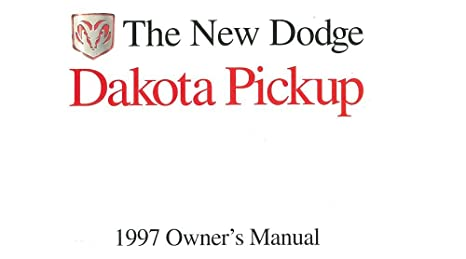 97 dodge dakota owners manual   ebay.