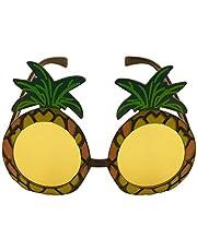 1 x Pineapple Sunglasses Glasses Specs Hawaiian Hula Fancy Dress Up Costume Accessory