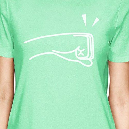mujer Camiseta manga corta para Talla Printing 365 de HqaFFB