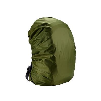 Hzjundasi 2x Imperméable Bagage sac Sac à dos Poncho poussière Pluie Sec Couverture pour Randonnée Voyage Camping
